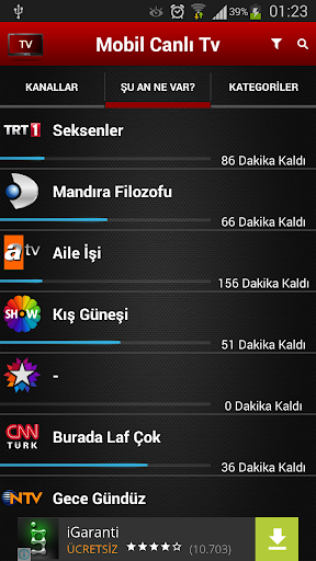 Mobil Canlu0131 Tv  Screenshots 3