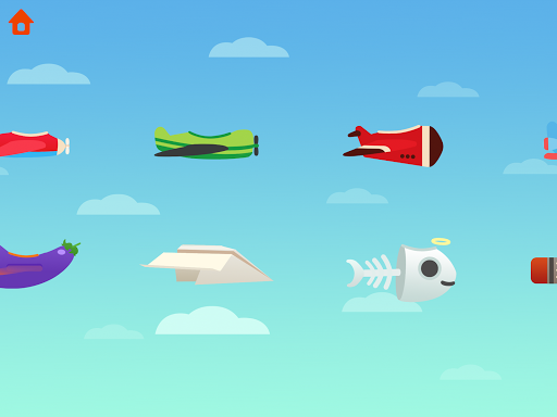 Dinosaur Plane - Plane piloting game for kids 1.1.0 screenshots 16