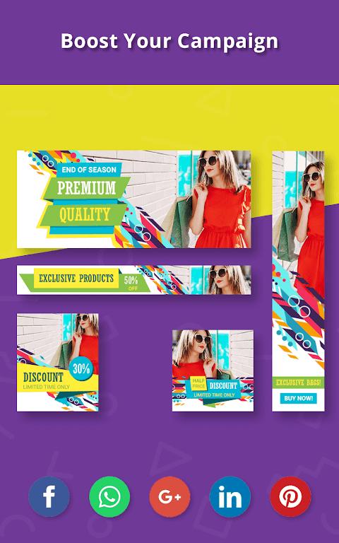 Banner Maker, Thumbnail Creator, Cover Photo Maker  poster 20