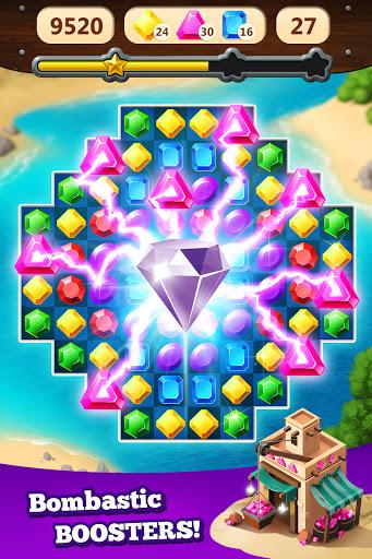 Jewel Rush - Free Match 3 & Puzzle Game 2.3.2 screenshots 14