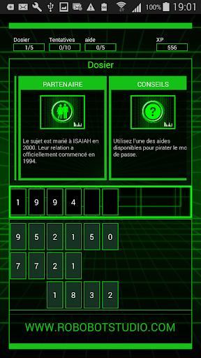 Code Triche HackBot Jeux de Hacker (Astuce) APK MOD screenshots 4