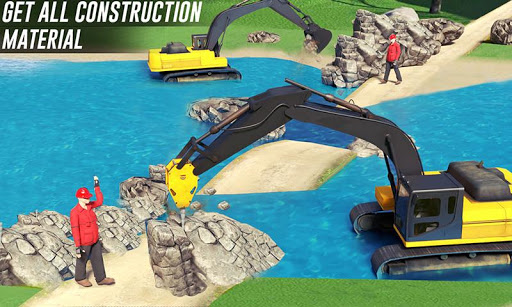river sand excavator simulator: crane game screenshot 3