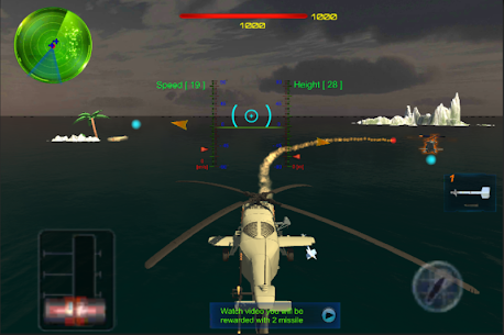 Sky-Helicopter-GunShip-AirCombat Online Hack Android & iOS 1