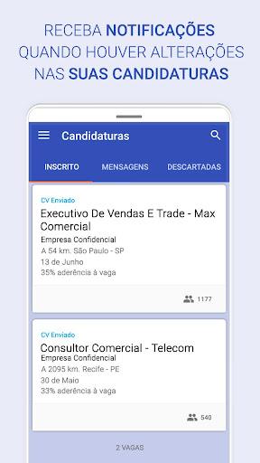 Vagas de emprego home office e presenciais android2mod screenshots 7