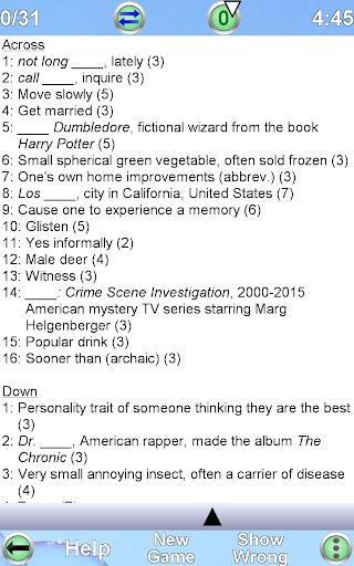 Arrow Crossword  screenshots 21