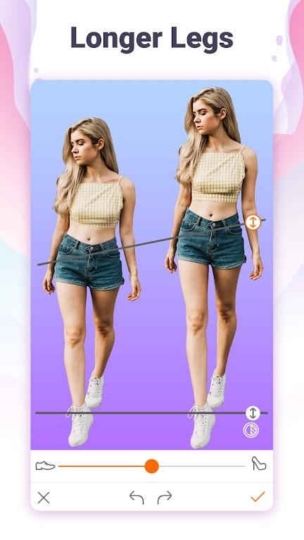 Hotune - Face&body editor&body enhancer&face app poster 6