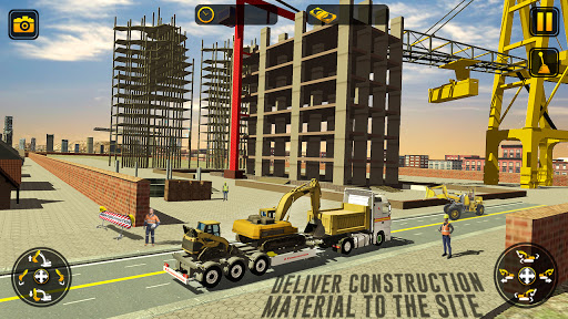 City Construction Simulator: Forklift Truck Game  screenshots 7