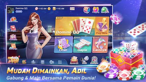 MVP Domino QiuQiu-KiuKiu 99 & Gaple & Slot online  screenshots 1