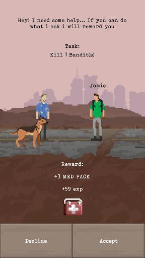u2622 The Wanderer - Post-Apocalyptic RPG Survival  screenshots 7