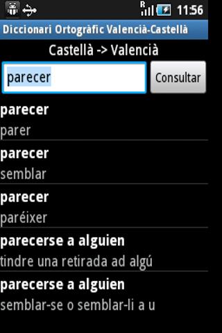 Diccionari Valencià <>Castellà For PC Windows (7, 8, 10, 10X) & Mac Computer Image Number- 7