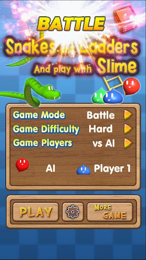 Snakes and Ladders, Slime - 3D Battle  screenshots 1