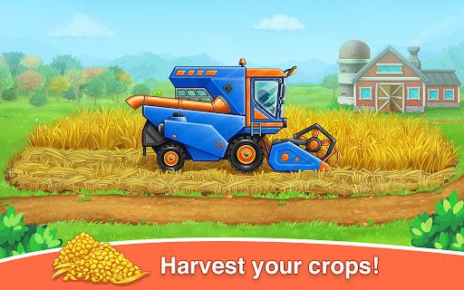 Farm land and Harvest - farming kids games 1.0.11 screenshots 4