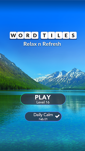 Word Tiles: Relax n Refresh  screenshots 8