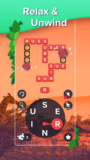 Puzzlescapes: Relaxing Word Puzzle & Spelling Game 2.245 screenshots 2