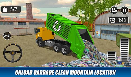 Offroad Garbage Truck: Dump Truck Driving Games 1.1.6 screenshots 8