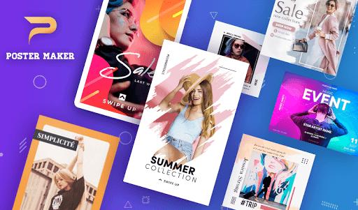 Poster Maker, Flyers, Banner, Logo Ads Page Design  Screenshots 1