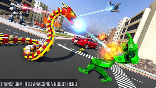 Anaconda Robot Car Games: Mega Robot Games 1.9 screenshots 13