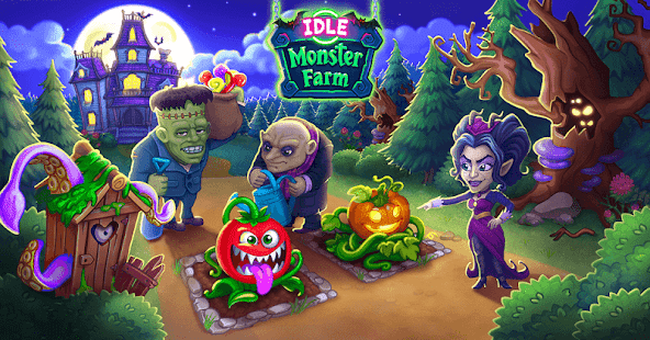 Idle Monster: Happy Mansion in Click Away Village