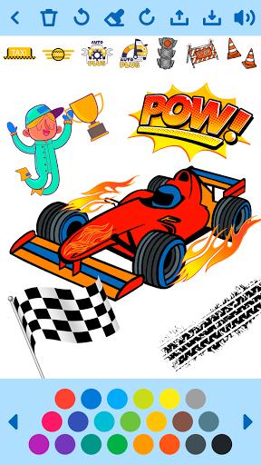Car Coloring Game offline🚗 1.6 screenshots 2