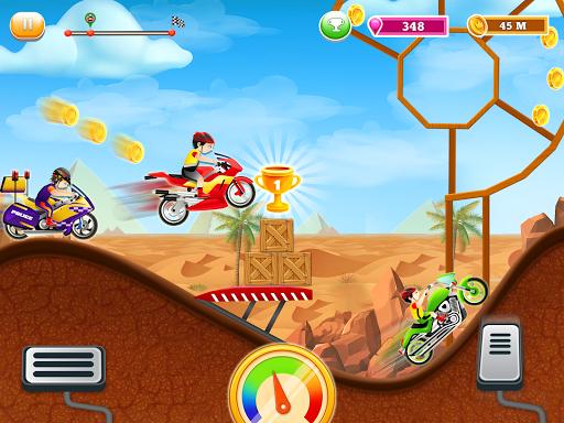 Kids Bike Hill Racing: Free Motorcycle Games 0.9 screenshots 11