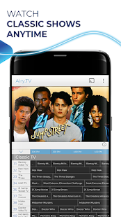 Free TV, Free Movies, Entertainment, AiryTV Screenshot