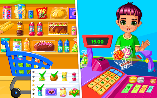 Supermarket Game modavailable screenshots 7