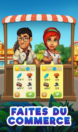 Code Triche Trade Island APK MOD (Astuce) screenshots 1