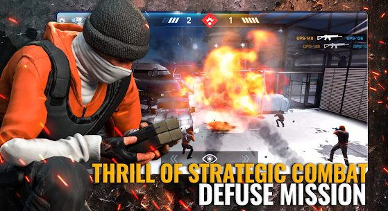 Critical Ops MOD (Unlimited Money/Health) 4