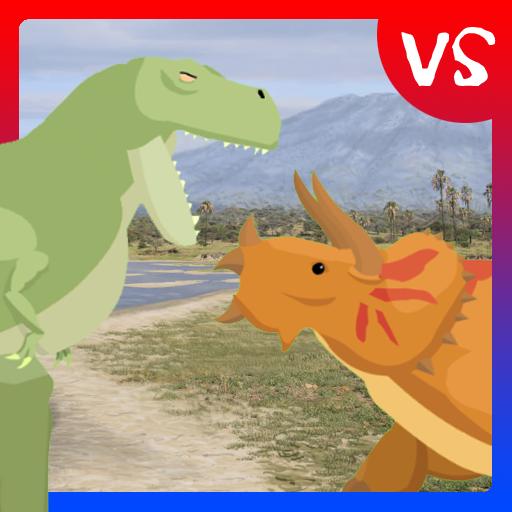 T Rex Fights Triceratops Apps En Google Play En sus bosques de nothofagus y podocarpáceas viven animales migratorios, dinosaurios sedentarios adaptados a los fríos inviernos y algunas reliquias del pasado, como los anfibios laberintodontes. google play