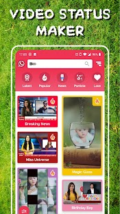 Boo - Video Status Maker Screenshot