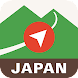 Japan Alps Hiking Map - Androidアプリ