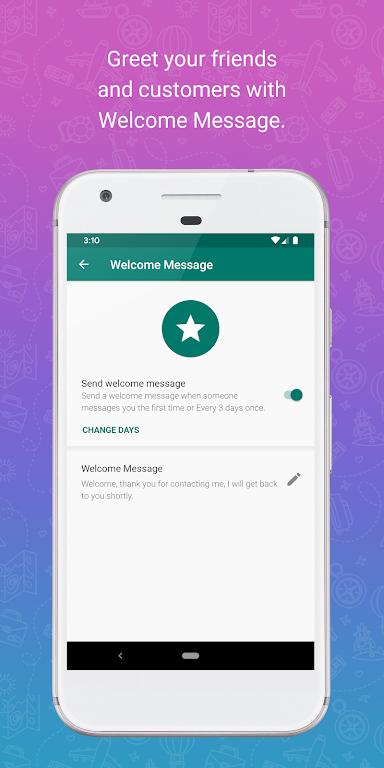 WhatsAuto - Reply App  poster 4