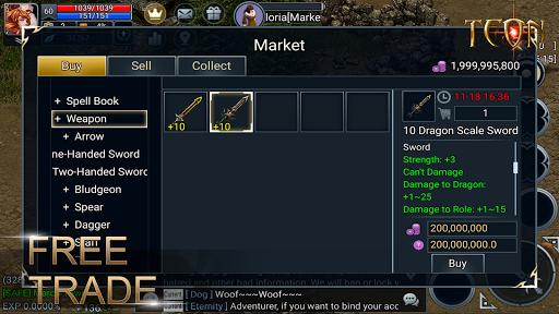 Teon: Sword & Magic apkslow screenshots 6