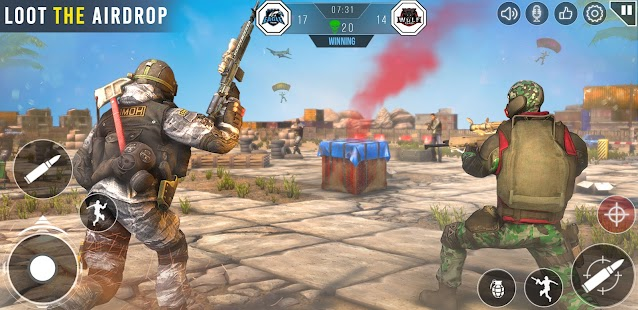 Commando Shooting Games 2021: Real FPS Free Games Screenshot