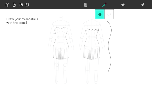 Fashion Design Flat Sketch 1.0 Screenshots 11
