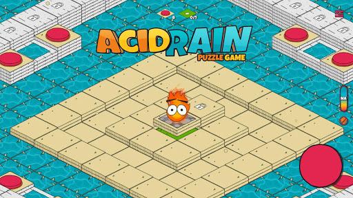 puzzle games escape: acid rain screenshot 1