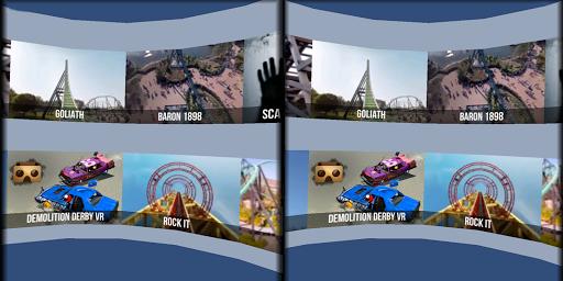 VR Thrills: Roller Coaster 360 (Cardboard Game) 2.1.7 Screenshots 9