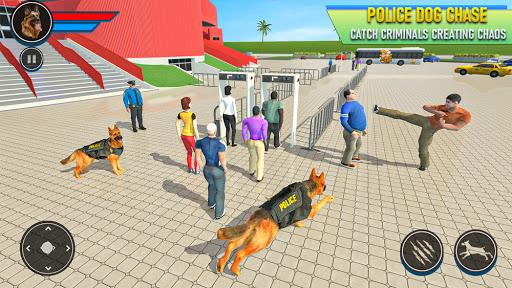 Police Dog Football Stadium Crime Chase Game  screenshots 5