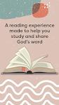 screenshot of Bible Home - Daily Bible Study, Verses, Prayers