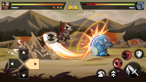 Brawl Fighter - Super Warriors Fighting Game  screenshots 7