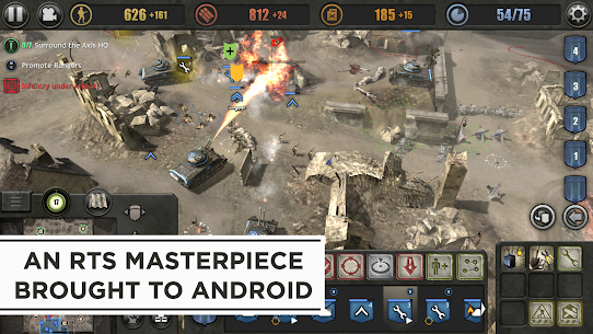 Company of Heroes Apk Mod + OBB/Data for Android. 1