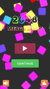 Merge Blast - Offline 2048 Puzzle Game