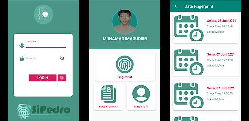 SiPedro - Absensi Pegawai by Android - Fingerprint Versi 1.2