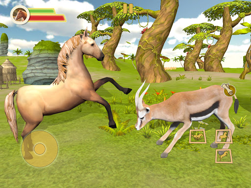 Ultimate Horse Simulator - Wild Horse Riding Game apkpoly screenshots 8