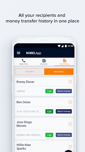 NobelApp Money Transfers + Calls For PC Windows (7, 8, 10, 10X) & Mac Computer Image Number- 7