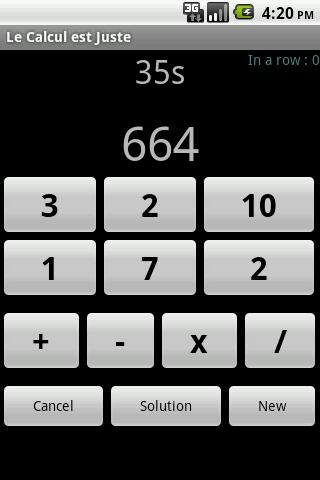 le calcul est juste screenshot 2