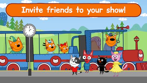 Kid-E-Cats Circus Games! Three Cats for Children  screenshots 3