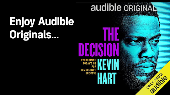 Audible: audiobooks, podcasts & audio stories 4