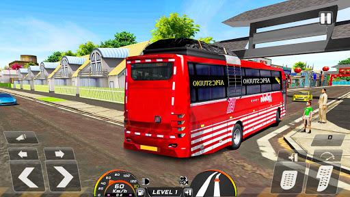 Real Bus Simulator Driving Games New Free 2021 2.1 screenshots 1