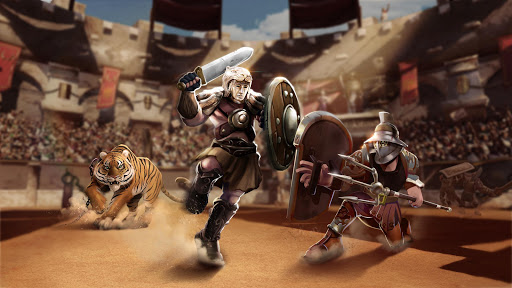 Gladiator Heroes - Strategy and Fighting Game  Screenshots 4